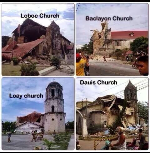 churches-bohol-earthquake