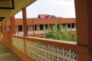 he newly completed Saint Vincent de Paul School
