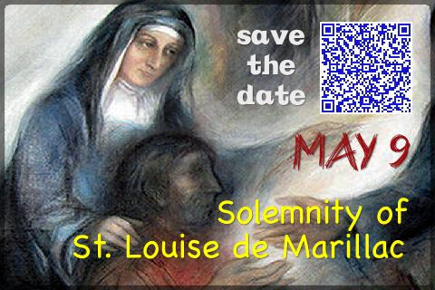 Scan the QR code in the image and save the new date of liturgical celebration in your calendar